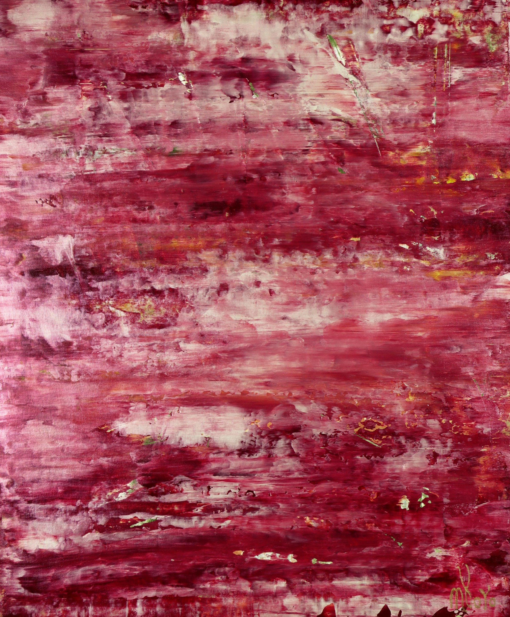 Coral Sunset (Red Reflections) (2021) by Nestor Toro