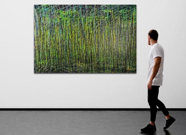 Green Forest (Wild Wind) (2021) by Nestor Toro