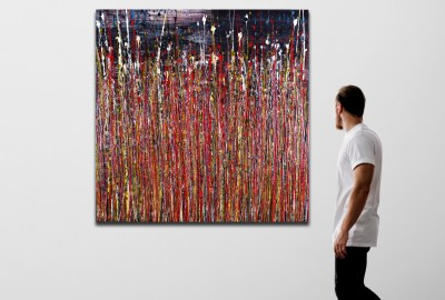 Reflection of Colors 2 (2021) by Nestor Toro