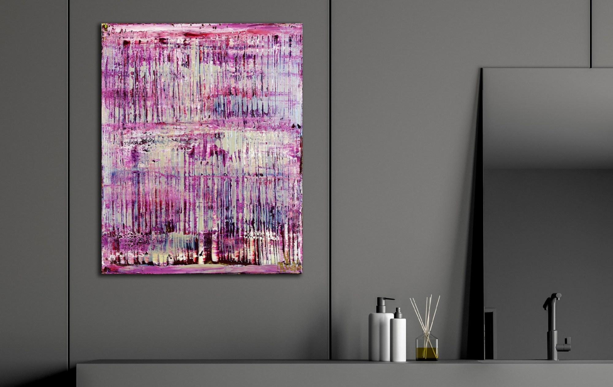Purple Panorama (Changing Iridescent Blue) 2 (2021) / Artist: Nestor Toro