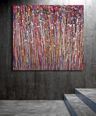 Reflections of Colors 3 (2021) Large Bold Statement Work!