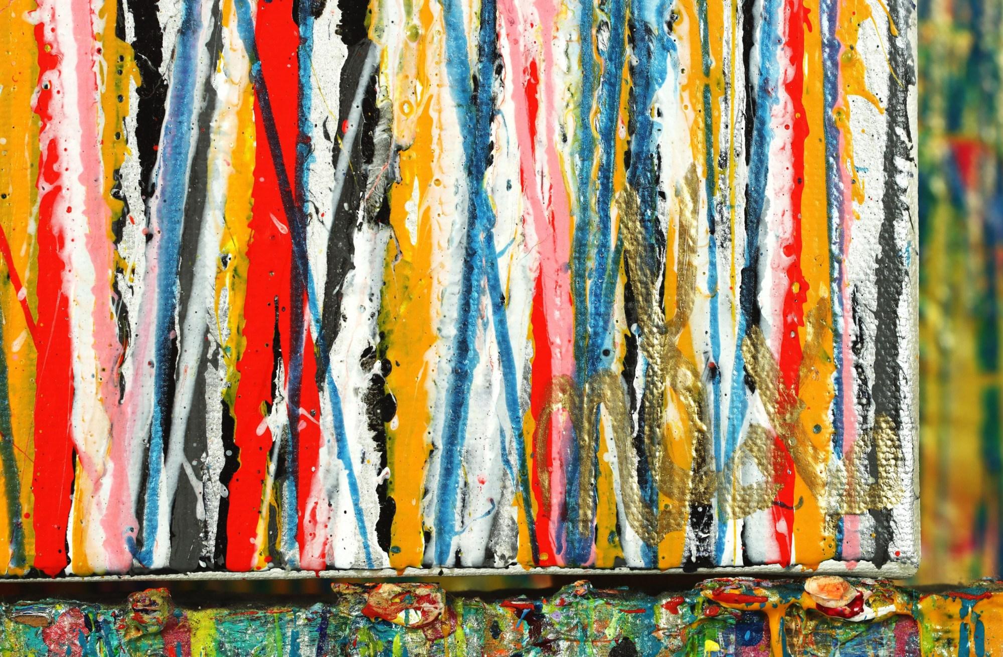 SIGNATURE - Dream Sequence 1 (2021) / Multi-canvas work by Nestor Toro