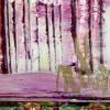 SIGNATURE / Purple Panorama (Changing Iridescent Blue) 2 (2021) / Artist: Nestor Toro