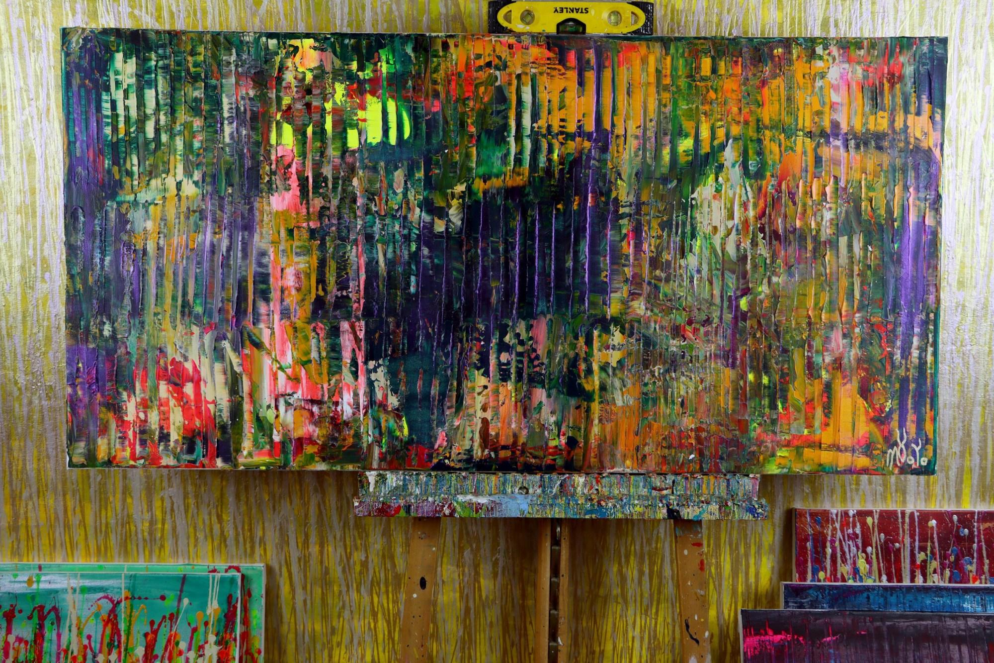 STUDIO VIEW / A Color Equation 7 (2021) by Nestor Toro