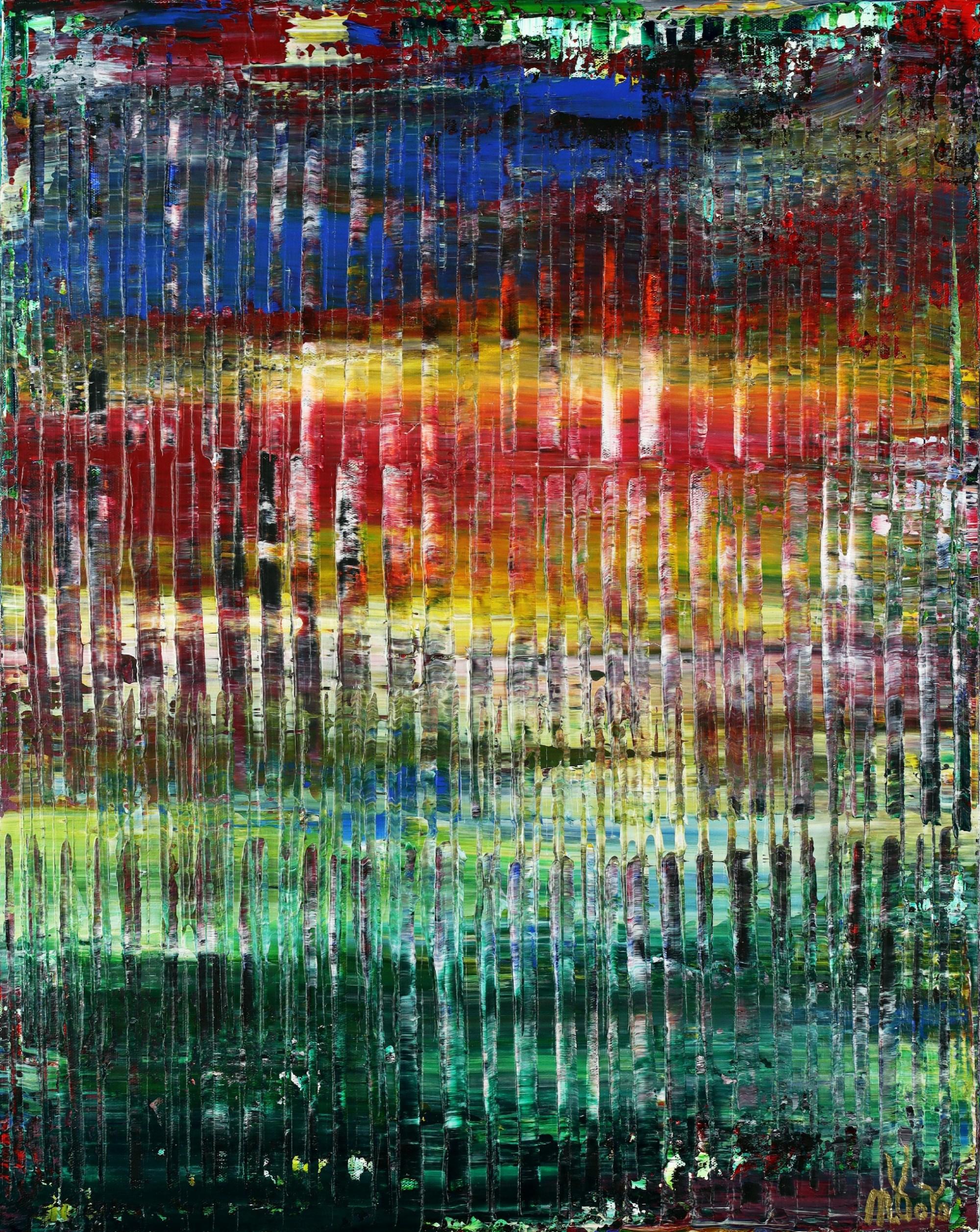 A Matter of Nature 9 (Tropics Reflections) (2021) / Artist: Nestor Toro