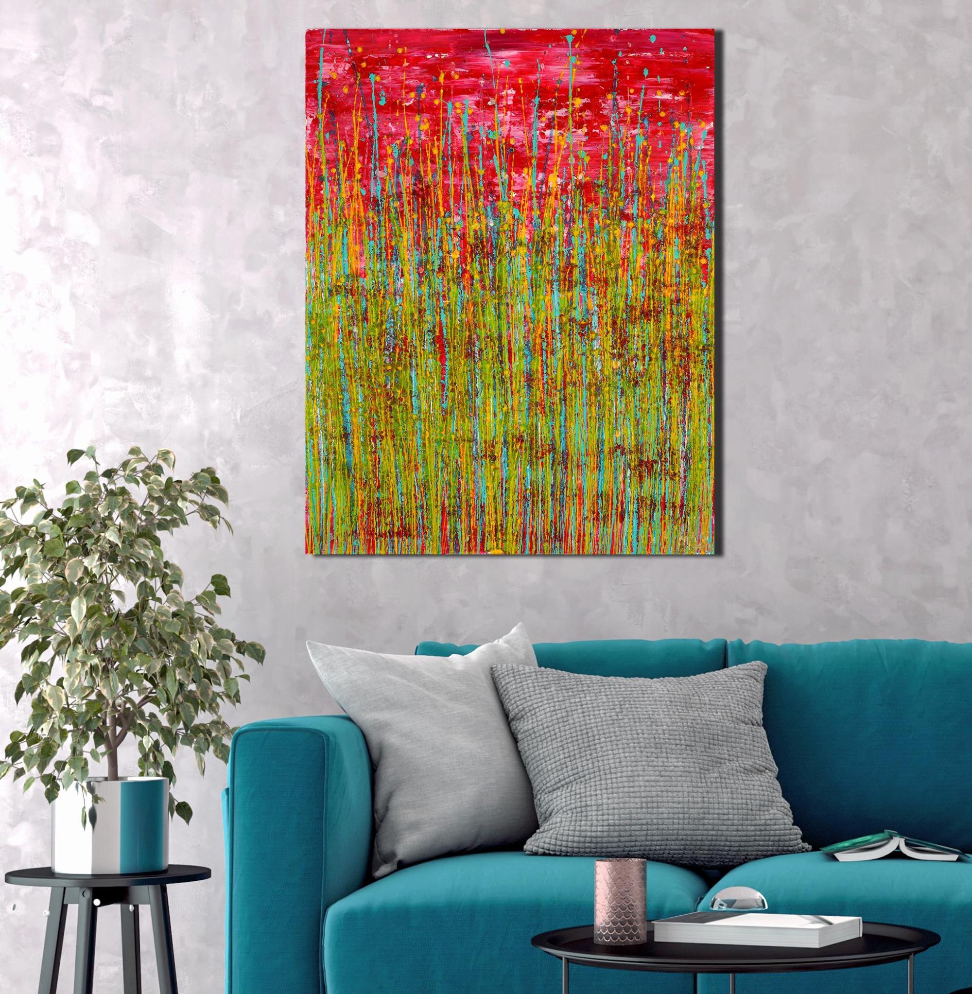 Room View / Caribbean Reflections 4 (2021) / Artist: Nestor Toro