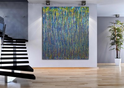 Reflection of Colors 6 (2021) / Artist: Nestor Toro