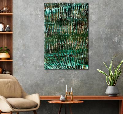 Copper Spectra (Patina) (2021) / Artist: Nestor Toro