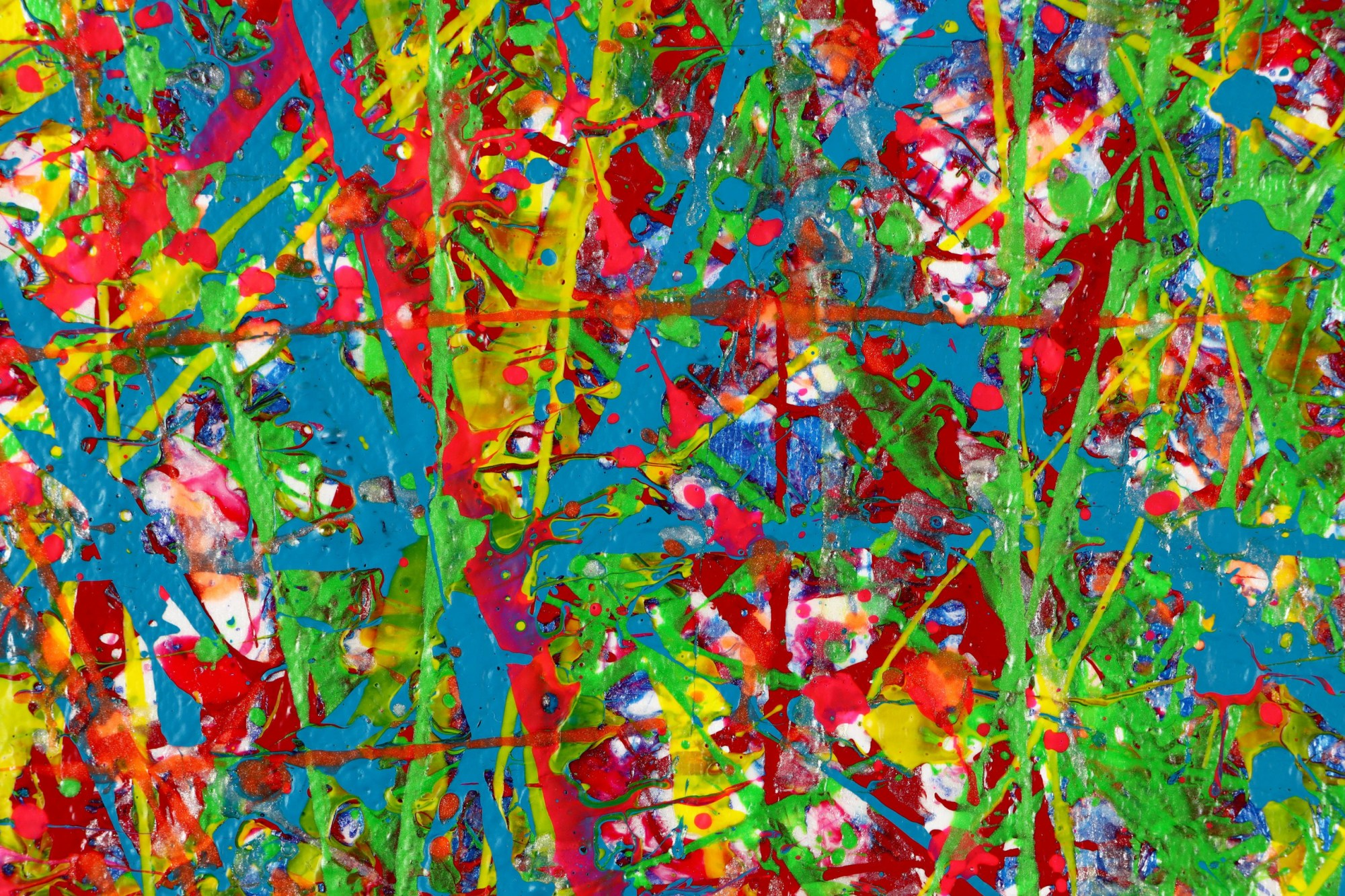 DETAIL / Colorful display of affection 2 (2021) / Diptych