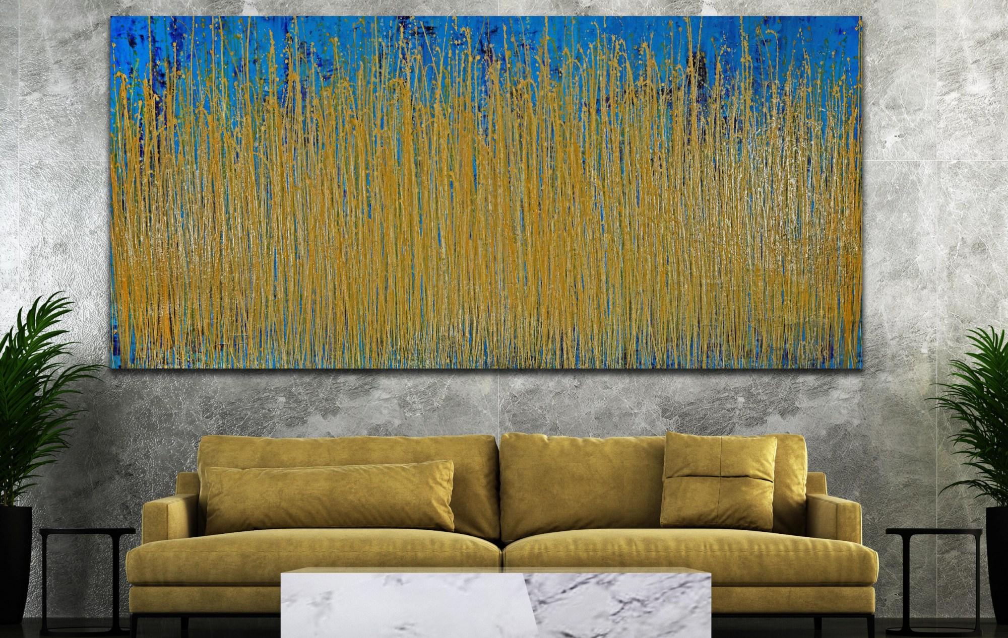Thunder Silhouettes (Golden Spectra) 3 (2021) / ARTIST: Nestor Toro
