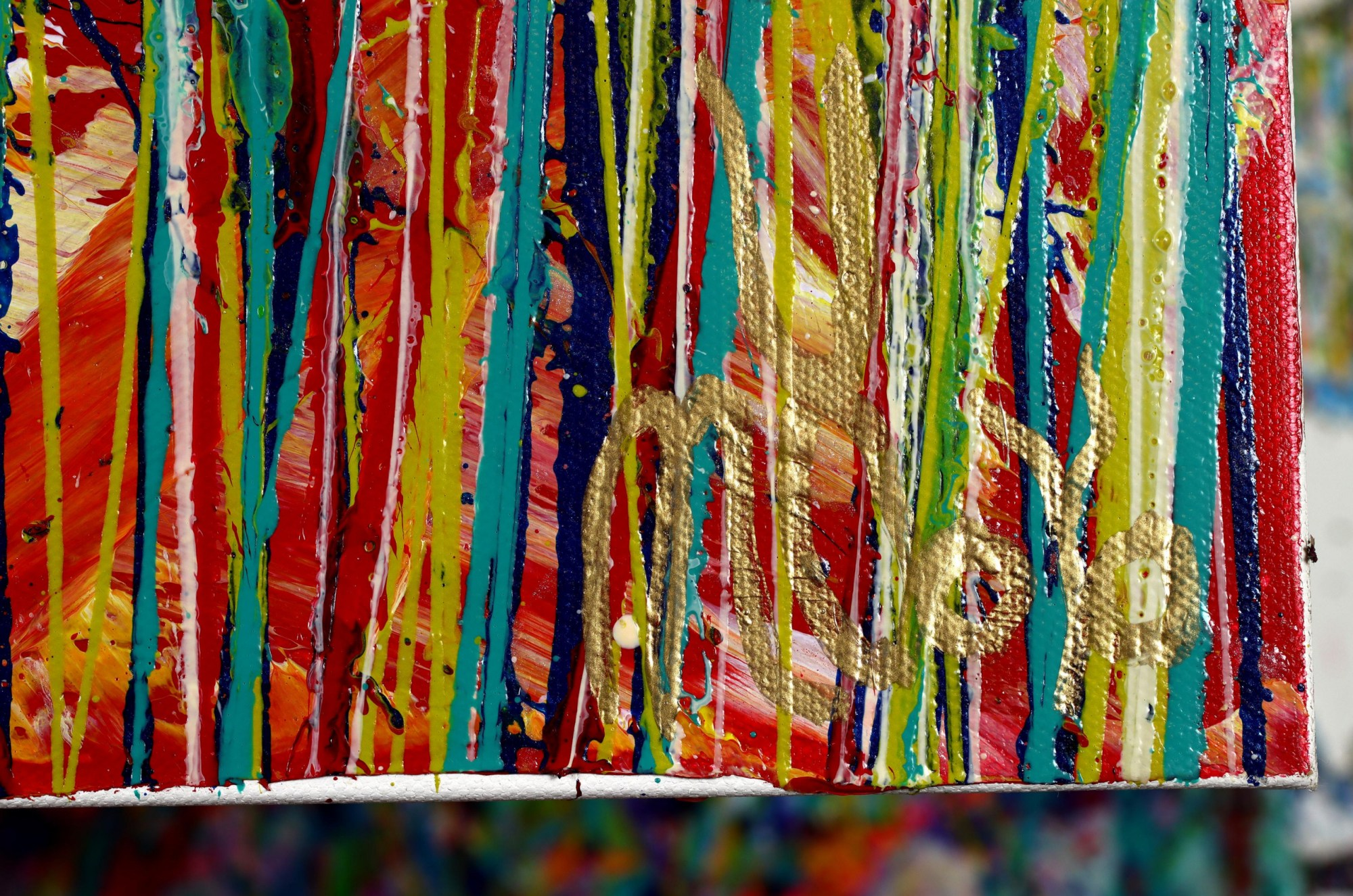 SIGNATURE / Autumn Motion (2021) - Ready to Hang - 48x24 inches