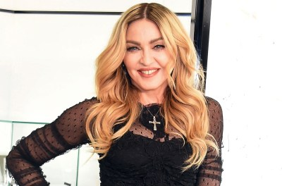 "TOKYO, JAPAN - FEBRUARY 15: Madonna attends the promotional event for ""MDNA SKIN"" on February 15, 2016 in Tokyo, Japan. (Photo by Jun Sato/WireImage)"