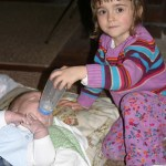 Sophie out to prove that she can be a big sister.