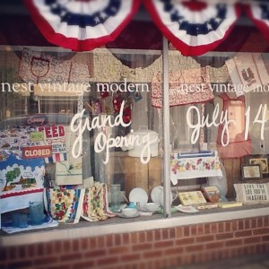 Store grand opening: Nest Vintage Modern