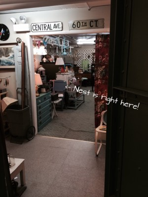 A fresh peek at my antique mall booth
