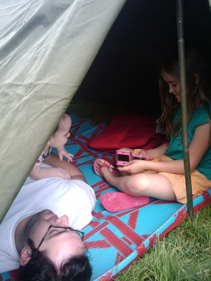 Time lost in tents