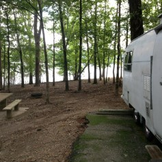 Lake Ouachita - We camped here when I was Will's age.