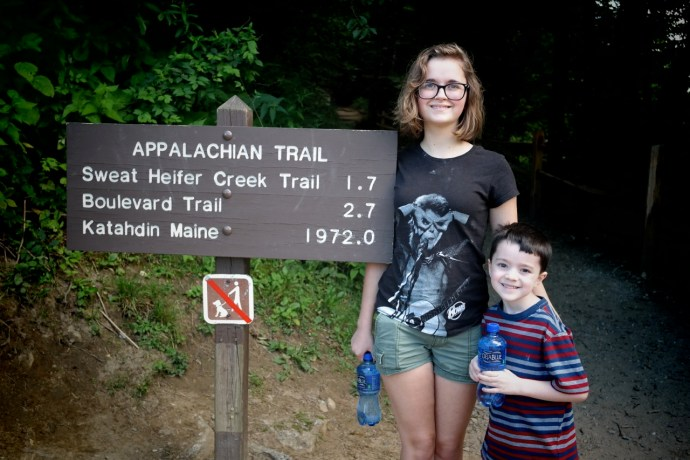 Day hiking on the Appalachian Trail