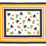 Vintage-style Halloween tablecloth
