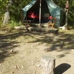 Wall tents
