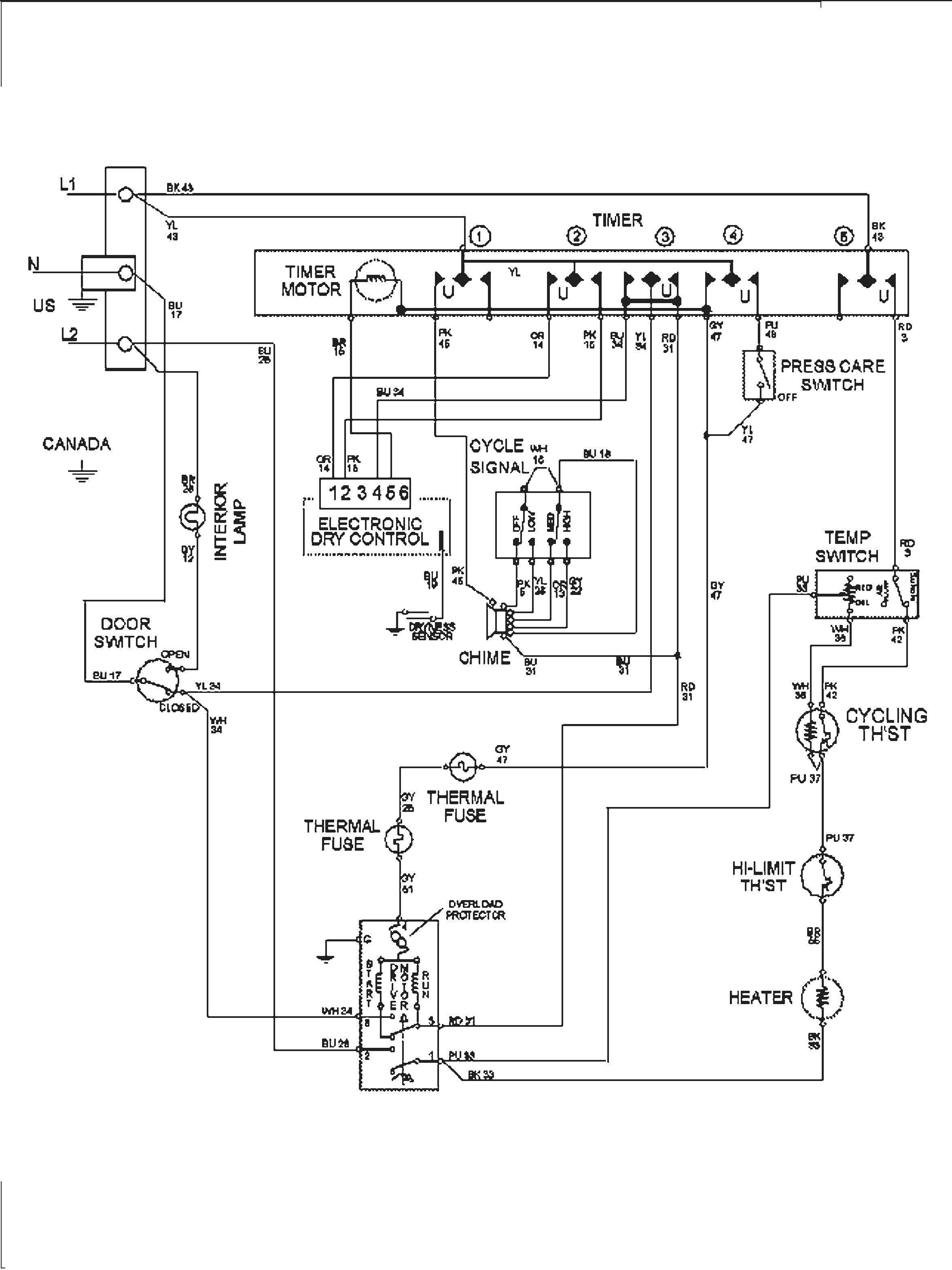 Dehumidifier Wiring Schematic Wiring Diagram