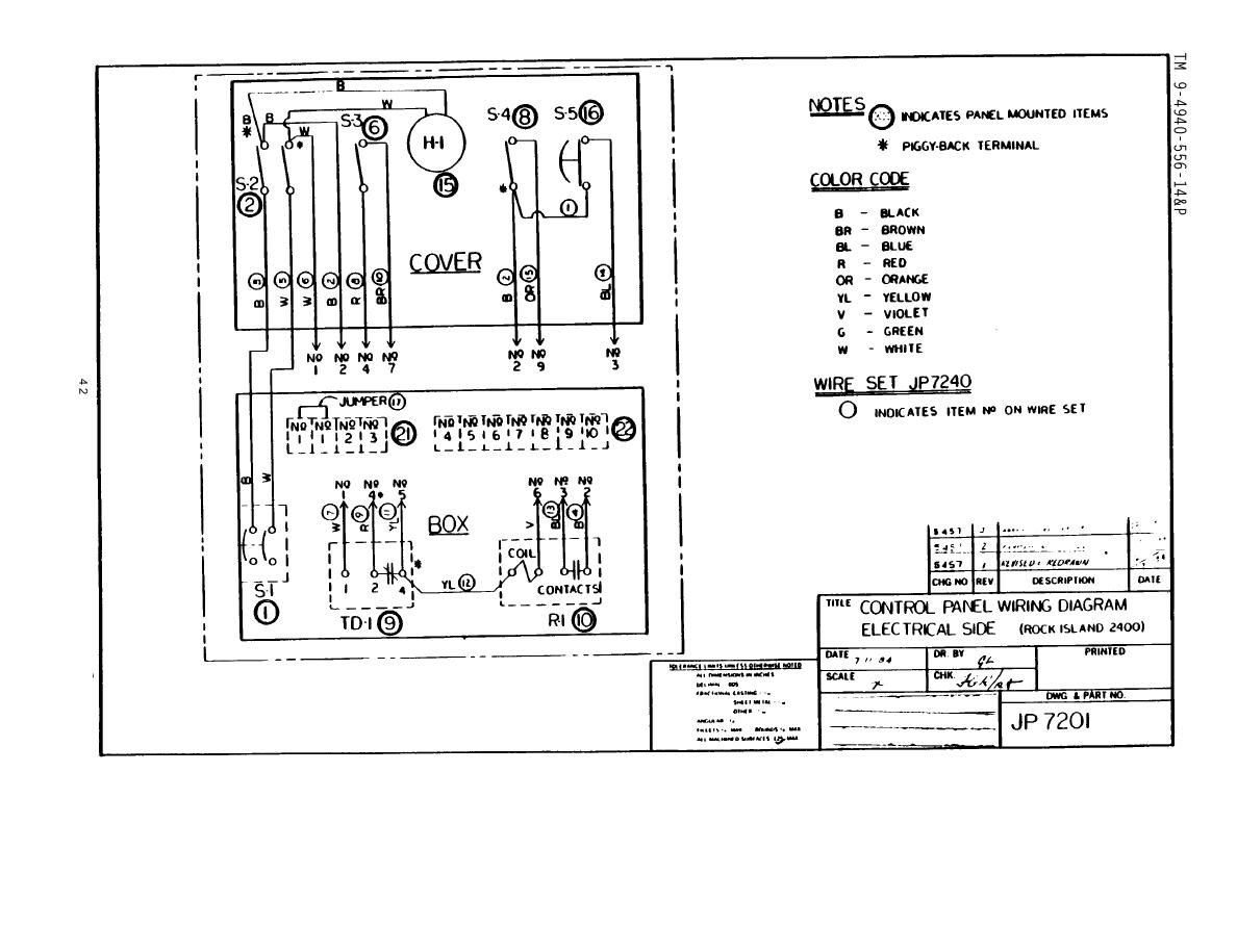 Marine Electrical Control Panel Wiring Diagram Manual E Books