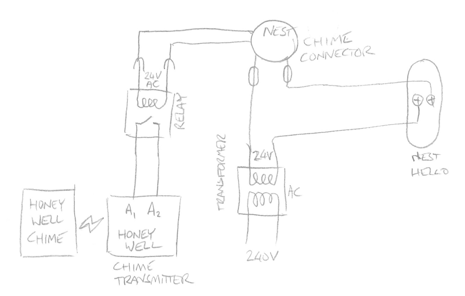 Nest Internal Wiring Diagram