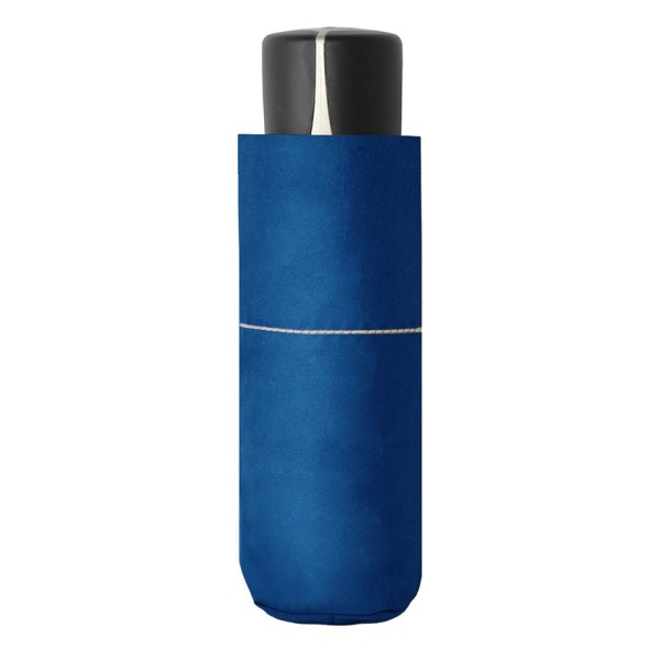 Unisex skėtis Doppler Fiber Mini Compact, mėlyna, suskleistas