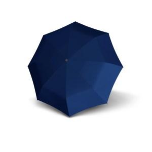 Unisex skėtis Doppler Fiber Golf, mėlyna, išskleistas
