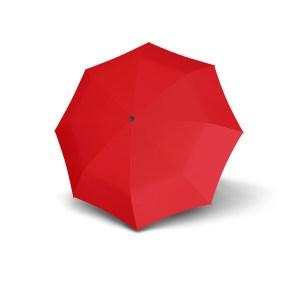 Unisex skėtis Doppler Fiber Golf, raudona, išskleistas