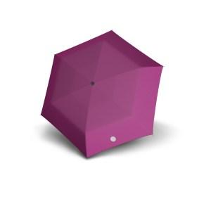 Vaikiškas skėtis Doppler Kids Reflex, fuksijos sp., su atšvaitu, išskleistas