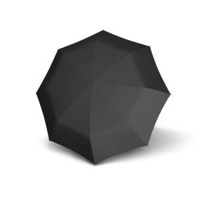 Vyriškas skėtis Doppler Fiber Automatic, taškuotas, išskleistas