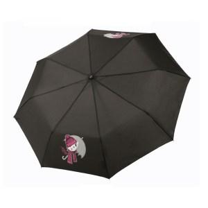 Moteriškas skėtis Doppler Fiber Kitty, išskleistas