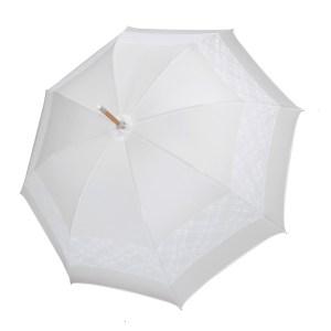 vienetinis rankų darbo vestuvinis skėtis Classic atidarytas