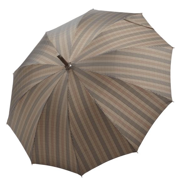 Vyriškas rankų darbo skėtis Doppler Manufaktur Norfolk Orion atidarytas
