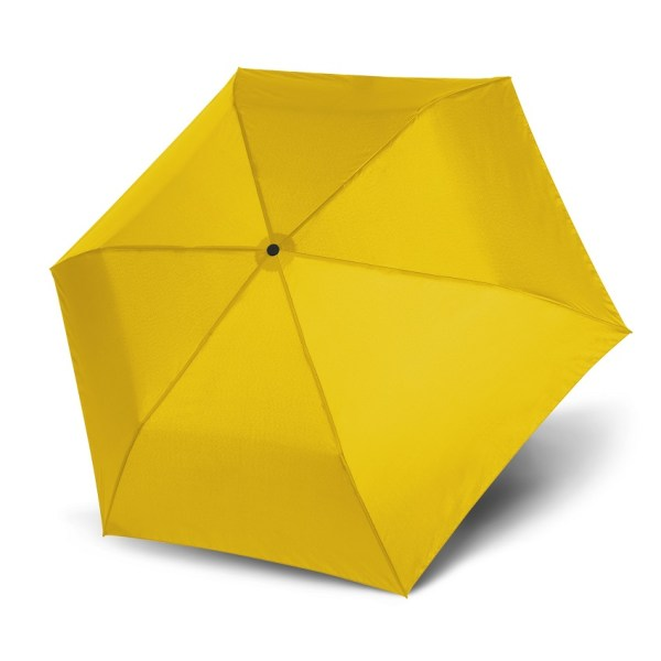 Unisex skėtis Doppler Zero Magic Shiny Yellow, satino geltona, atidarytas