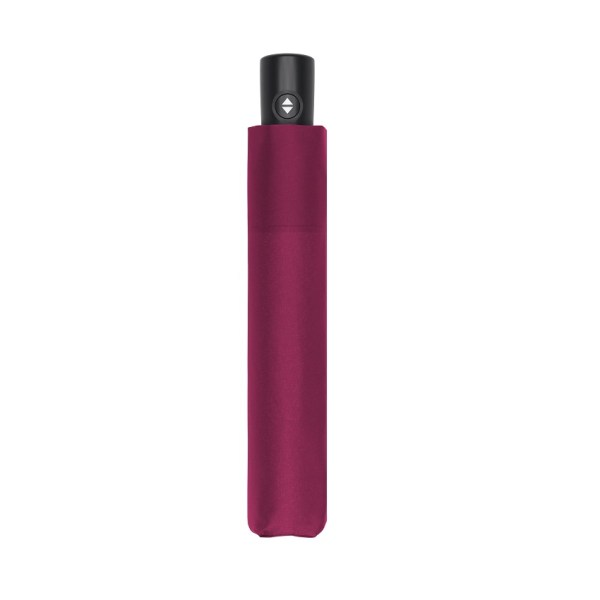 Unisex skėtis Doppler Zero Magic Royal Berry, satininė bordo, uždarytas