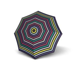 Moteriškas skėtis Knirps X1, Flora Multicolor atidarytas
