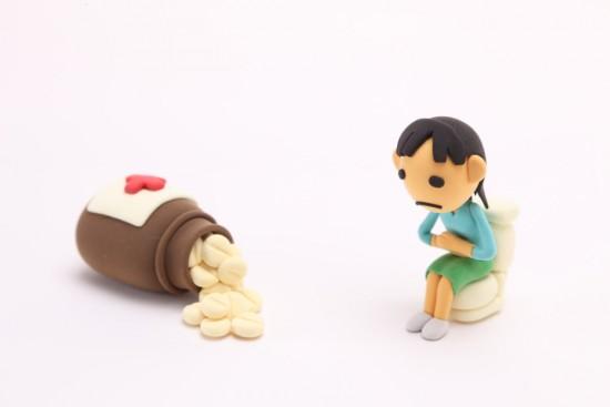 弛緩性便秘でお腹の張って、おならが辛い時は?