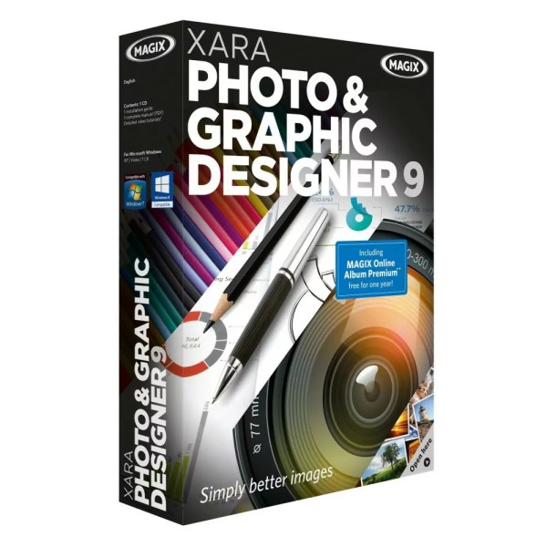 Giveaway: Xara Photo & Graphic Designer 9 for Free | NET-LOAD