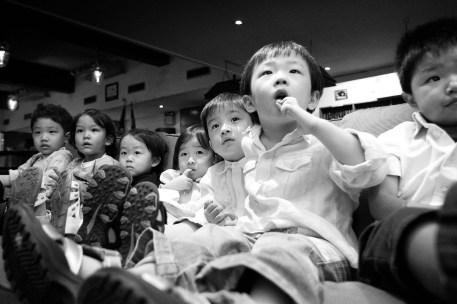 Photo of kid birthday party taken in Bangkok, Thailand.