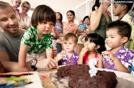 Ari's 2nd Birthday Party at GM Height Apartment in Bangkok, Thailand.