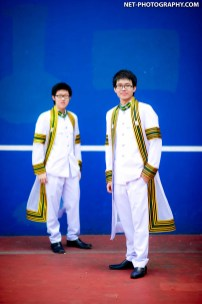 Chulalongkorn University's Commencement 2012.