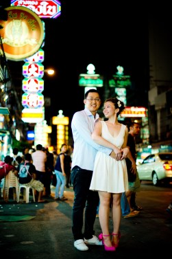 Thailand Bangkok Pre-Wedding Engagement - Thailand Wedding Photographer