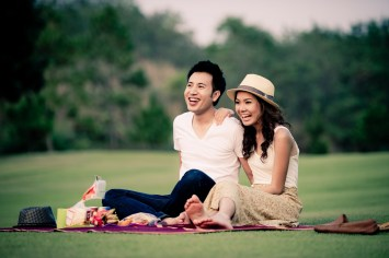 Thailand Khao Yai Pre-Wedding Engagement - Thailand Wedding Photographer