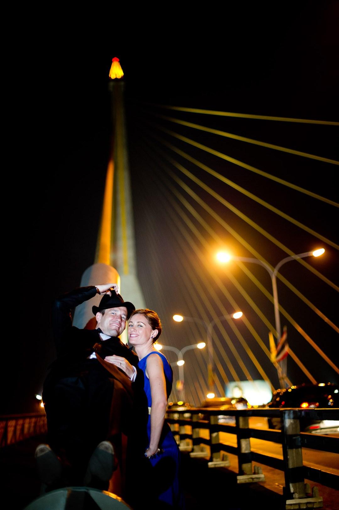 Bangkok Wedding Photography | Rama VIII Suspension Bridge Pre-Wedding Photography