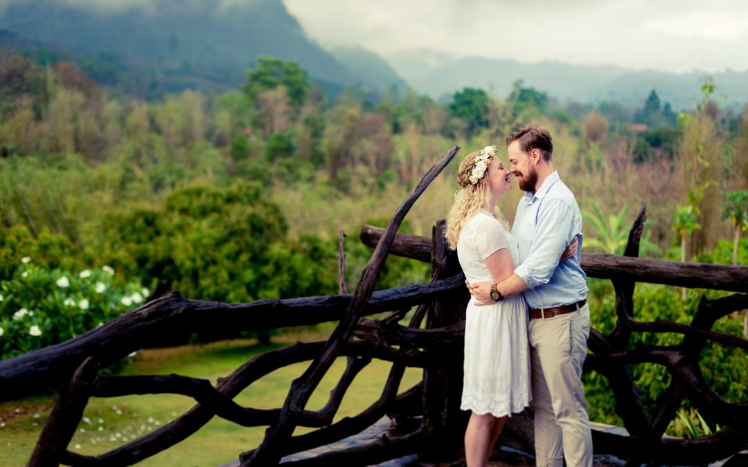 Photo of the Day | Post Wedding Session at Villa Doi Luang Reserve Chiang Dao