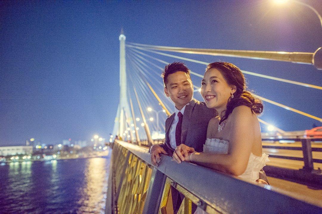 Pre-Wedding @ Rama VIII Bridge | Bangkok Wedding Photography