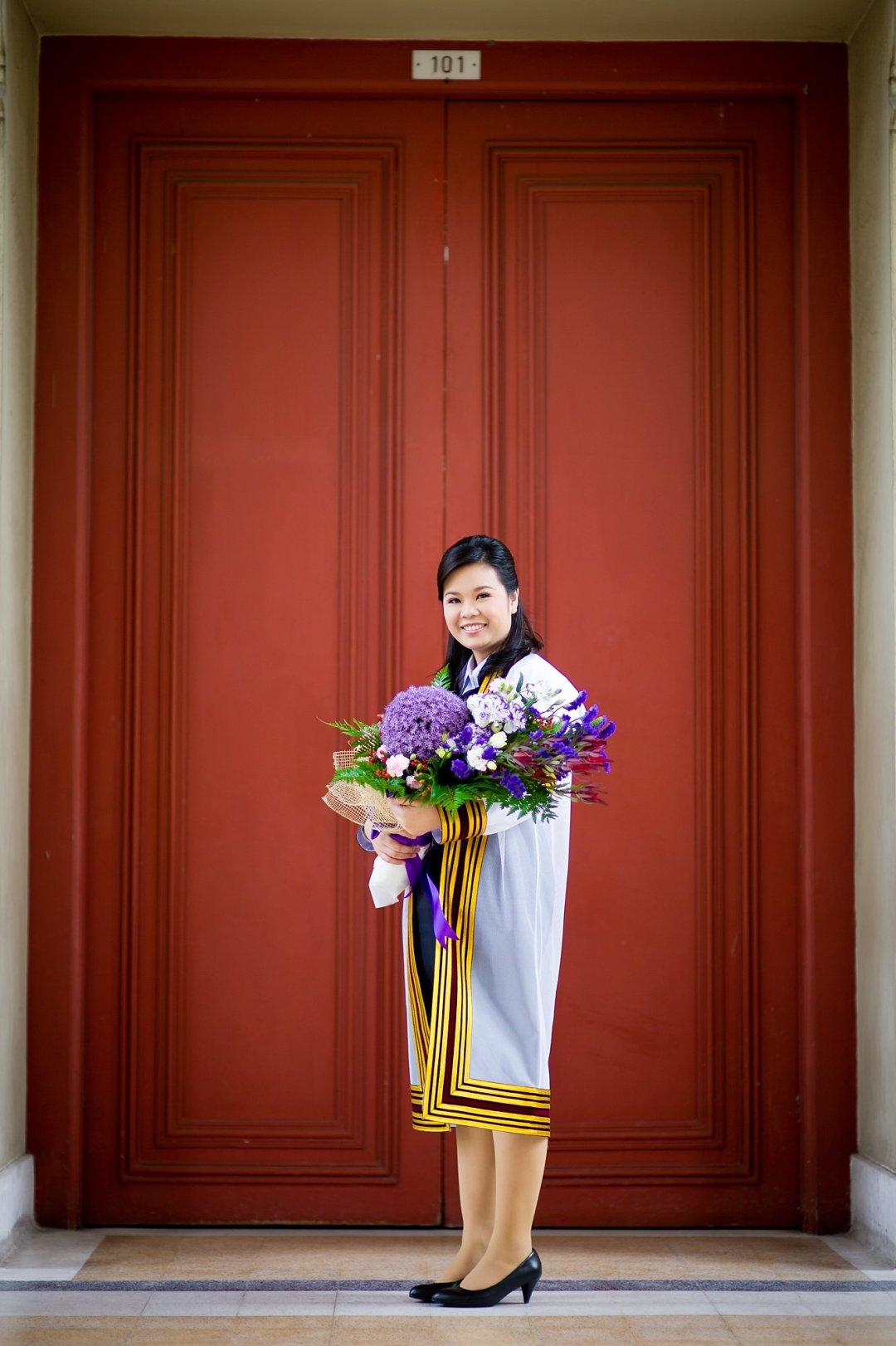 ภาพรับปริญญาวันซ้อมที่จุฬาลงกรณ์มหาวิทยาลัย | Neoy's Commencement Rehearsal Day at Chulalongkorn University