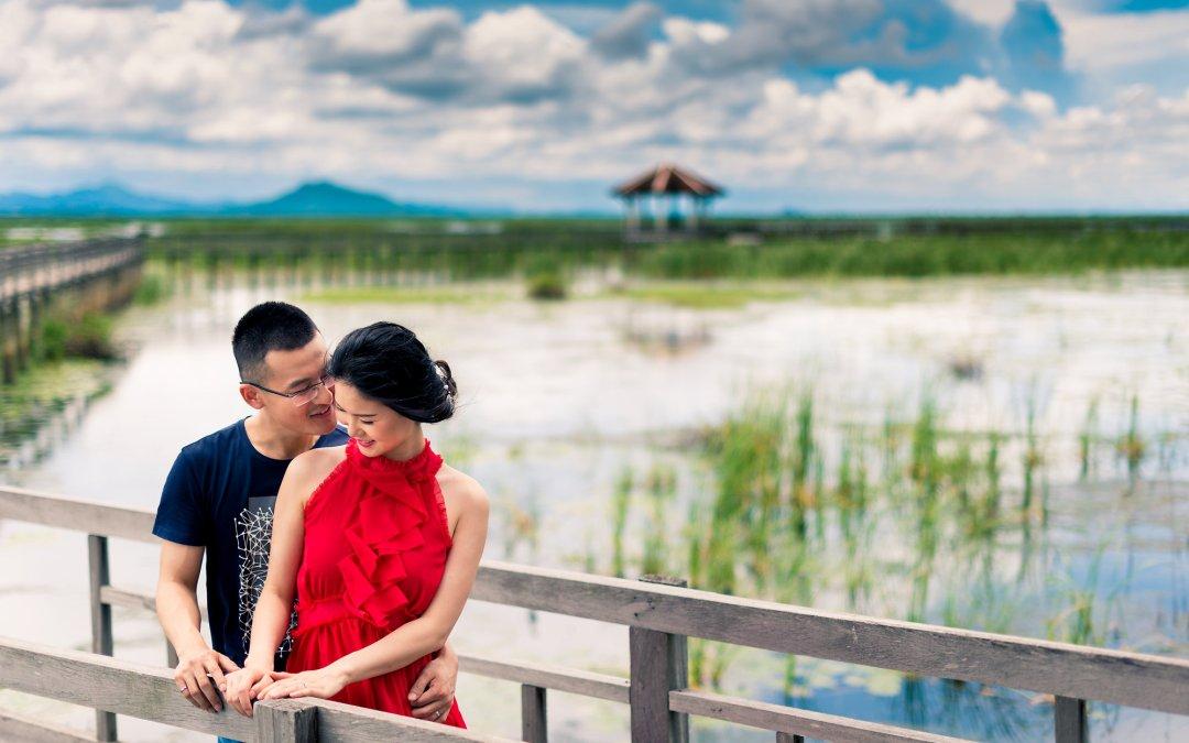 PreWedding at Khao Sam Roi Yot & Hua Hin Beach   ภาพคู่แต่งงาน พรีเวดดิ้ง ที่ เขาสามร้อยยอด และ ชายหาดหัวหิน